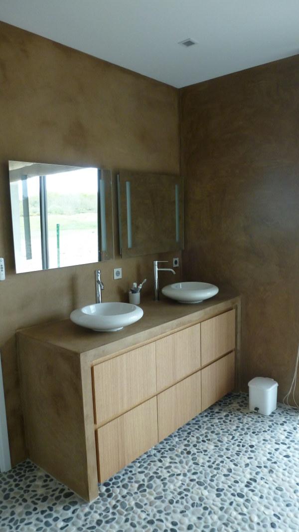 Sarl galipaud carrelage fa ence et b ton cir devis - Beton cire pour carrelage salle de bain ...